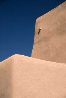 Free Adobe Roof And Sky Royalty Free Stock Image - 9038276