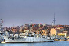 Free HDR Battleship Royalty Free Stock Image - 9038306