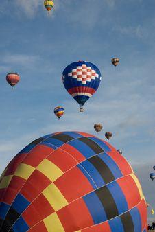 Free Hot Air Balloons Royalty Free Stock Photo - 9038355