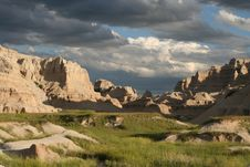 Free Wicked Badlands Royalty Free Stock Image - 9038416