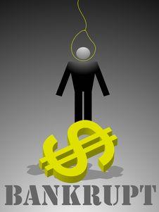 Free Bankrupt Stock Photo - 9038950