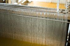 Free Wood Weaving Machine Royalty Free Stock Photos - 9039748