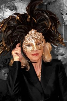 Free Venetian Carnival Mask - Maschera Di Carnevale - Venice Italy - Creative Commons By Gnuckx Stock Images - 90355084