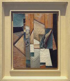 Free &x22;Le Livre&x22;, Juan Gris, 1913. Musée D Art Moderne De La Ville De Paris, Palais De Tokyo. Stock Photos - 90355143
