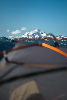 Free Camping At Mountains Stock Photography - 90355842