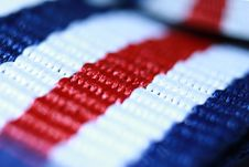 Free Red White And Blue Striped Thread Royalty Free Stock Photo - 90358885
