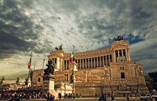 Free Altare Della Patria Monument In Rome Royalty Free Stock Photos - 90359068