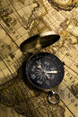Free Old Compass Stock Photography - 9044562