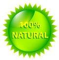 Free 100 Percent Natural. Royalty Free Stock Photos - 9044908