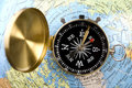 Free Old Compass Royalty Free Stock Photography - 9045547