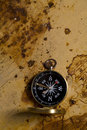 Free Old Compass Royalty Free Stock Photo - 9047445