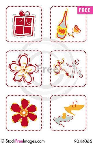 Celebrating icons free stock images photos 9044065 - Celebrating home designer login ...
