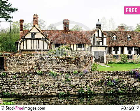 Medieval Manor House 5 Stock Photo