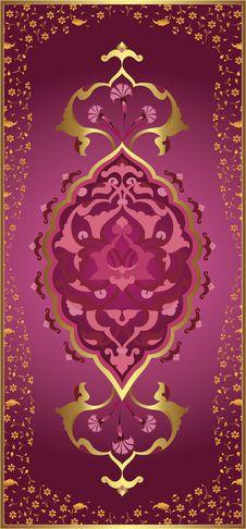 Free Traditional Ottoman Turkish Tile Illustration Royalty Free Stock Photos - 9040018