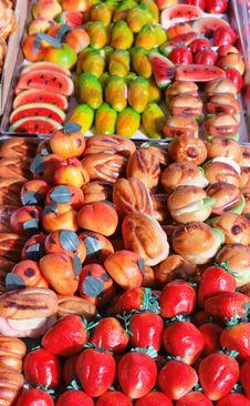 Free Marchpane Assortment Royalty Free Stock Photo - 9040135