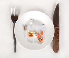 Free Vitamins Stock Image - 9040171
