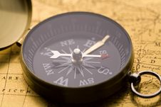 Free Old Compass Stock Photos - 9040673