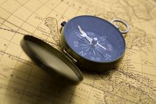Free Old Compass Stock Image - 9040761