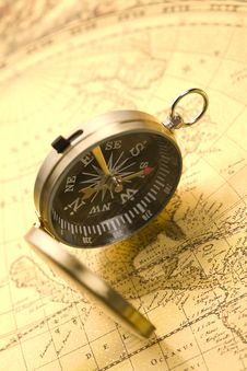 Free Old Compass Stock Images - 9040964