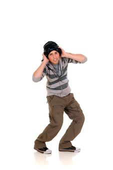Free Handsome Hip Hop Youngster Royalty Free Stock Image - 9041026