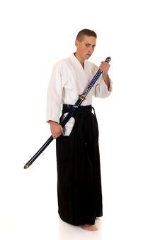 Free Samurai Royalty Free Stock Photography - 9041047
