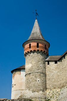 Free Watchtower In A Fortress Stock Photo - 9041480