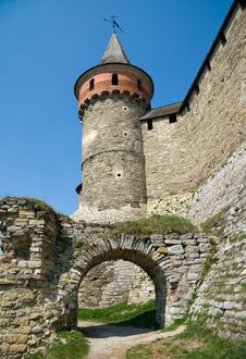 Free Watchtower In A Fortress Stock Image - 9041511