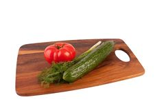 Free Vegetables On Cutting Board Stock Photography - 9041542