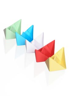 Free Paper Boats Royalty Free Stock Photos - 9041608