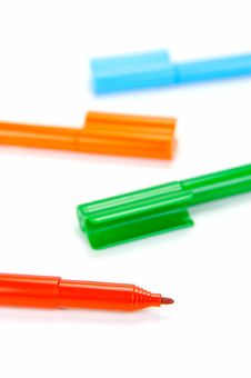 Free Connector Pens Stock Photo - 9042220