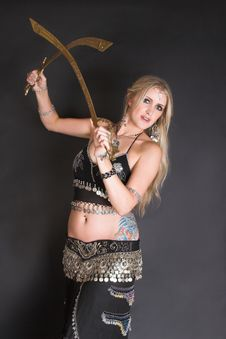 Free Belly Dancer Stock Photo - 9042680
