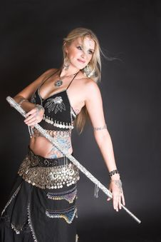 Free Belly Dancer Stock Image - 9042841