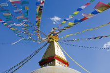 Swayambhunath Temple Royalty Free Stock Photography