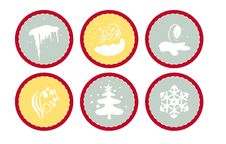 Free Weather Icons Royalty Free Stock Image - 9044096