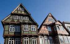 Free Typical German Houses Royalty Free Stock Photography - 9045837