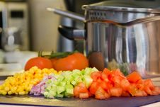 Free Cooking Vegetables Royalty Free Stock Images - 9046369