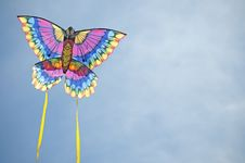 Free Kite Against The Sky Stock Images - 9046444