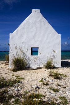 Historic Slave Hut, Bonaire Royalty Free Stock Photos