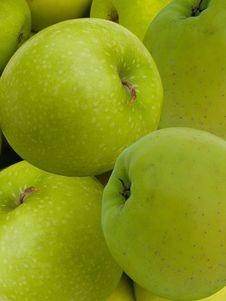 Fruit Apples Green Stock Photos