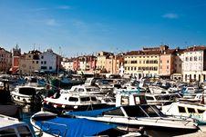 Free View Of Harbour In Rovinj, Croatia Stock Image - 9048681