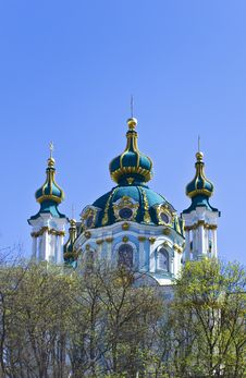 Free Old Church In Kiev Royalty Free Stock Images - 9048939