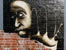 Free Behind The Brick Wall. Stock Photography - 90427172