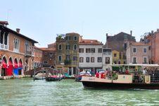 Free Hotel Ca  Sagredo - Grand Canal - Rialto - Venice Italy Venezia - Creative Commons By Gnuckx Stock Image - 90427191