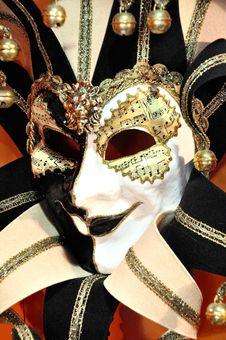 Free Venetian Carnival Mask - Maschera Di Carnevale - Venice Italy - Creative Commons By Gnuckx Stock Image - 90427201