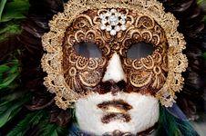 Free Venetian Carnival Mask - Maschera Di Carnevale - Venice Italy - Creative Commons By Gnuckx Stock Photo - 90427230