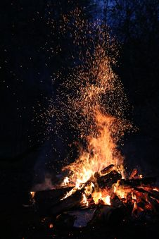 Free Campfire Royalty Free Stock Image - 90429096