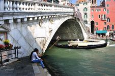 Free Grand Canal - Rialto - Venice Italy Venezia - Creative Commons By Gnuckx Royalty Free Stock Images - 90488669