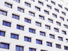 Free White Buildings With Blue Glass Windows Stock Photo - 90488700