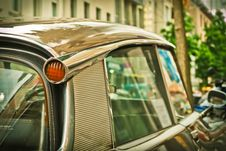 Free Silver Car Travelling Near White Concrete Building During Daytime Close Up Photo Royalty Free Stock Image - 90488946