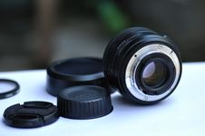Free Camera Lens And Accessories Royalty Free Stock Photography - 90490097